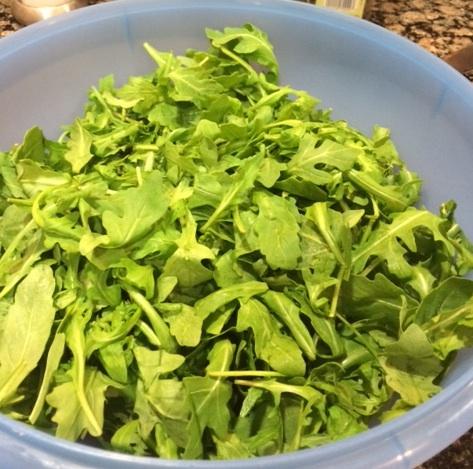 Arugula Salad with Lemon and OliveOil