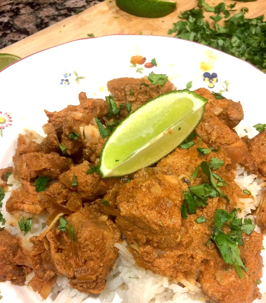 Butterless Slow Cooker Indian Butter Chicken