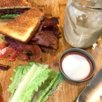 BLT with Avocado and Brown Butter Mayo